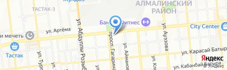 Rock Crystal на карте Алматы