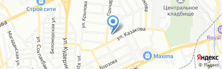 Общеобразовательная школа №109 на карте Алматы