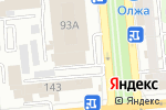 Схема проезда до компании FD studio в Алматы