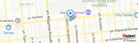 Тамада на карте Алматы