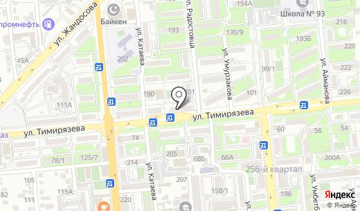 AUDI-VOLKSWAGEN. Схема проезда в Алматы