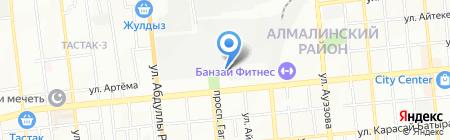 ДвериАЛ.kz на карте Алматы