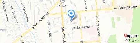 Алматы Техносервис ЛТД на карте Алматы
