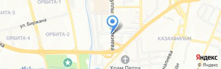 Chaba Spa на карте Алматы
