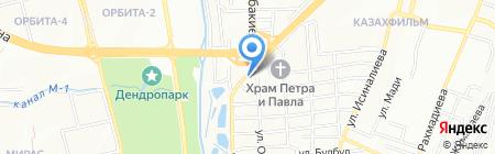 ЕНБЕК на карте Алматы