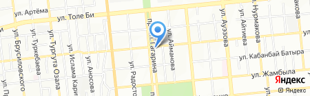 Альтаир на карте Алматы