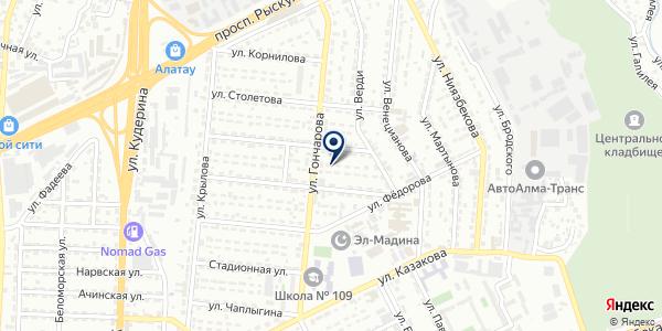 Brazzers на карте Алматы