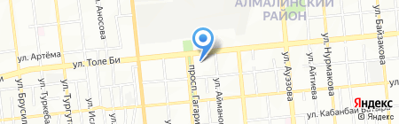 Ахлима на карте Алматы