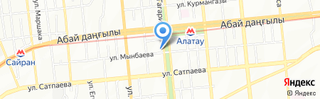 Your Chance на карте Алматы