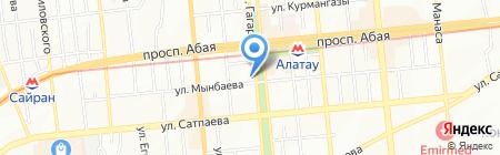 Twinkle на карте Алматы