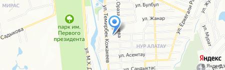 SLTGroup на карте Алатау