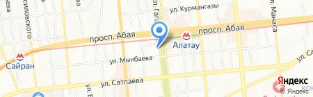 Han Bel на карте Алматы