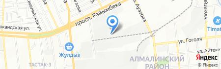 Медет на карте Алматы