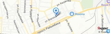 Почтовое отделение связи №34 на карте Алматы