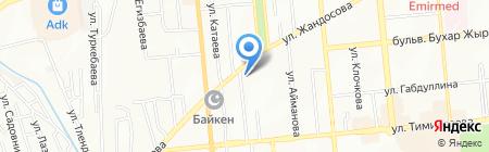 Траверс Конструктив на карте Алматы