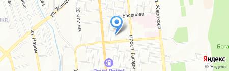 Эльнар на карте Алматы