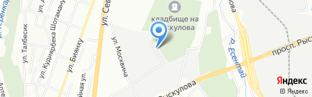 Арго на карте Алматы