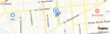 Идеал на карте Алматы