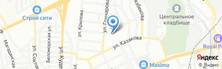 Алмадина на карте Алматы