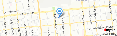 Oneman на карте Алматы