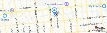 Uni Roba на карте Алматы