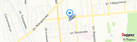Алматинские тепловые сети ТОО на карте Алматы