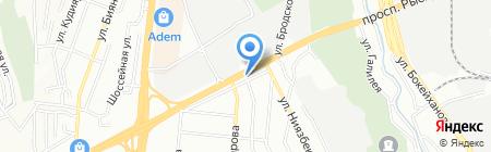 CARLUX Service Group на карте Алматы
