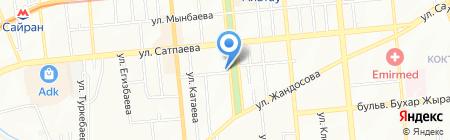 ЗдравЛотос на карте Алматы