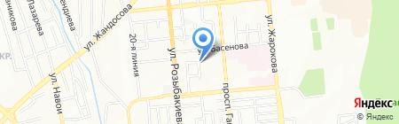 Казахстанское общество по управлению правами исполнителей на карте Алматы