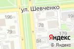 Схема проезда до компании Экомед в Алматы