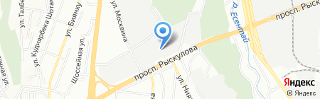 Республиканская ассоциация центров технического осмотра автомототранспортных средств на карте Алматы