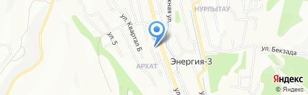 Padishah на карте Алматы