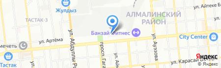 Варио Принт на карте Алматы