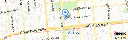 КЭМПО на карте Алматы