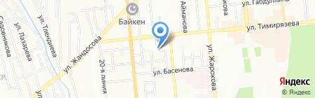 Танымгер на карте Алматы