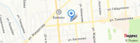Магазин на карте Алматы