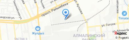Ronya Company на карте Алматы