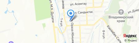 Ахмат Автомаляр на карте Алатау