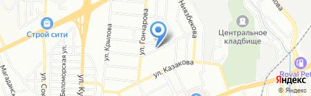 Elegant на карте Алматы