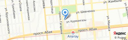 Fast Food Service на карте Алматы