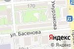Схема проезда до компании Раден в Алматы