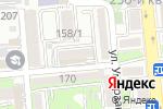 Схема проезда до компании La Fame Club в Алматы