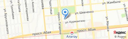 ПС Акцент ТОО на карте Алматы