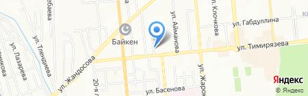 Ай-ди на карте Алматы