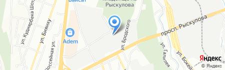 СМЭУ Алматы на карте Алматы