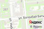 Схема проезда до компании Alpro-СМНУ в Алматы