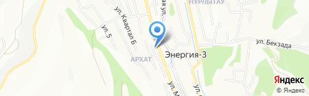 Olympic Plaza на карте Алматы