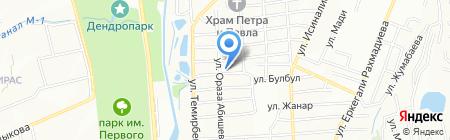 Скорбь на карте Алатау
