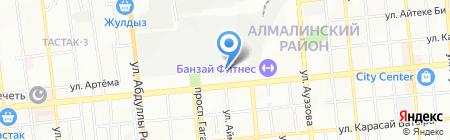 Posudas.kz на карте Алматы