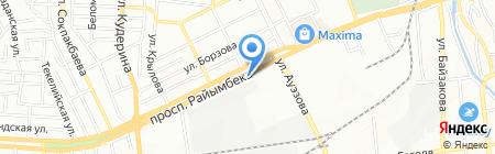 Мастерская по ремонту обуви на проспекте Райымбека на карте Алматы